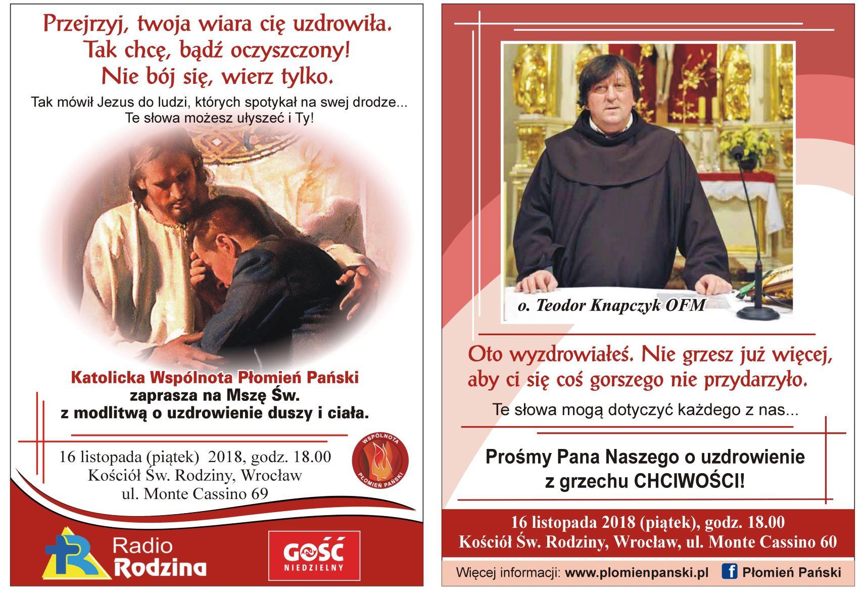 Płomień Pański uzdrowienie 02 mały